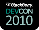 BlackBerry Developer Conference 2010