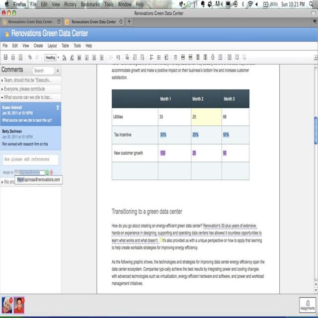 IBM screenshot