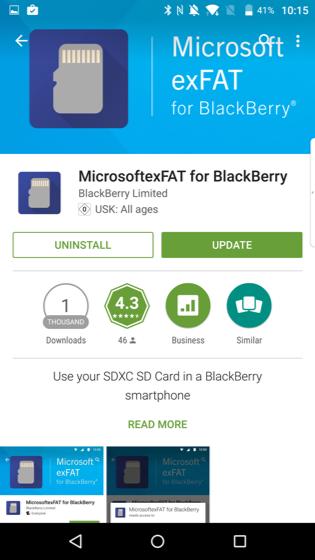vowe dot net :: exFAT for BlackBerry Priv
