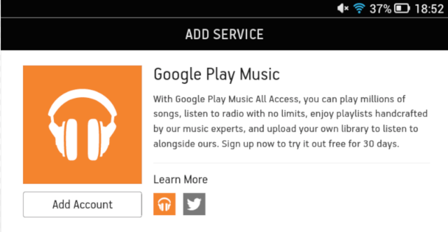 googlesonos /></p>  <p>Sonos made a very significant announcement today, and it's not obvious how the game changes.</p>  <p>From today on you can use Google Play Music All Access with Sonos, just like any other music service, via the music player. But the Android Google Play Music app gains a new feature. You can now