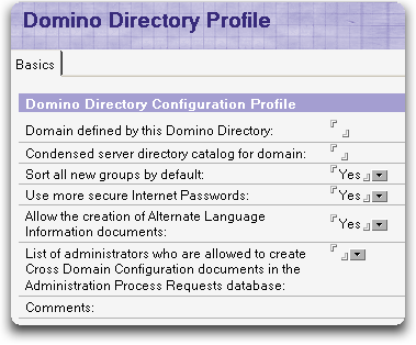 dominodirectoryprofile