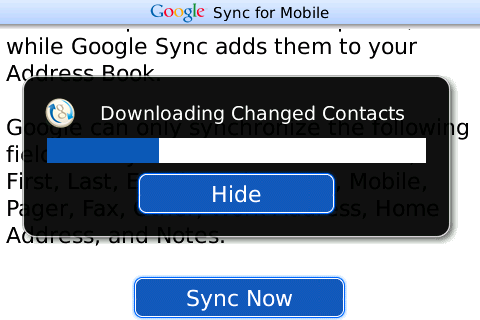 googlesyncbbcontacts