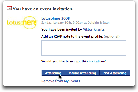 lotusphere invitation