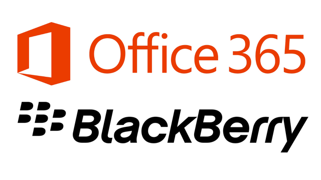 office 365 blackbarry