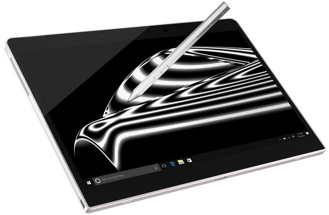 pd book one tablet pen w10 clean on wht
