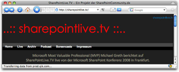 sharepointlivetv