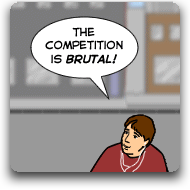 thecompetitionisbrutal
