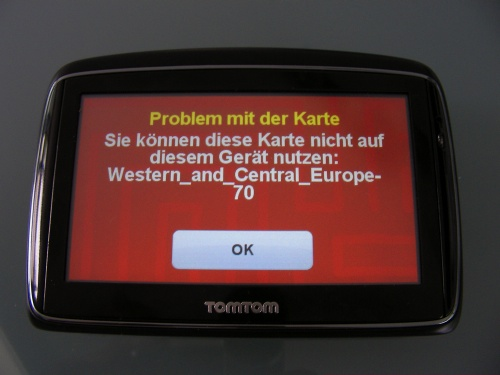 Tomtom Karte.Vowe Dot Net Tomtom Map Update Fails Big Time