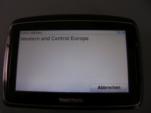 Carte Western Europe Tomtom Go 720.Vowe Dot Net Tomtom Map Update Fails Big Time