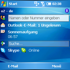 skype installed